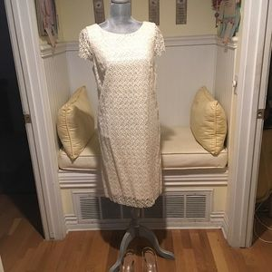 Special occasions lace overlay after five dress
